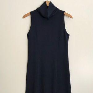 St. John Collection navy dress